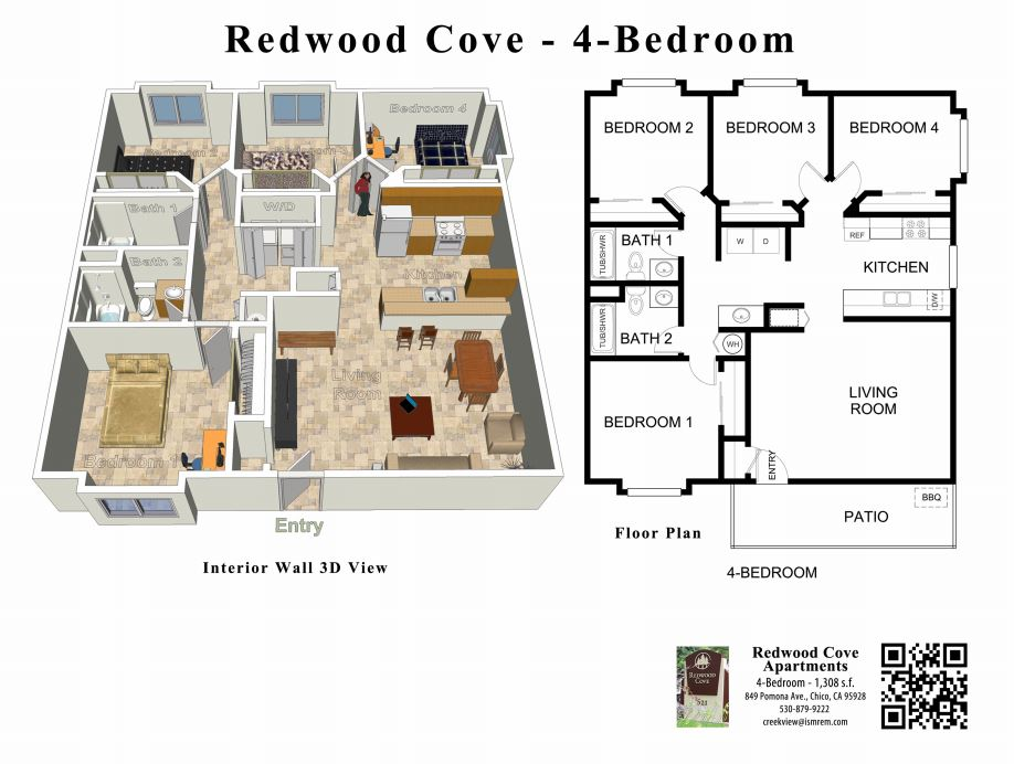 redwood cove apartments for rent in chico, ca 95928
